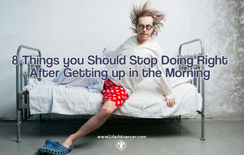 Getting up in the Morning