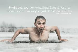Hydrotherapy Boost Your Immunity