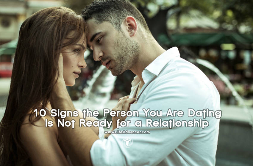 Dating not ready for a relationship