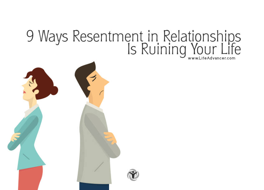 Dealing with resentment in relationships