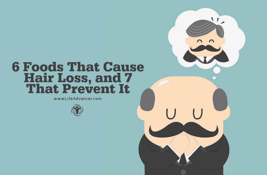 Reason for hair loss in men