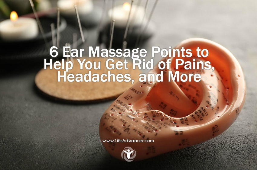 Ear Massage Points