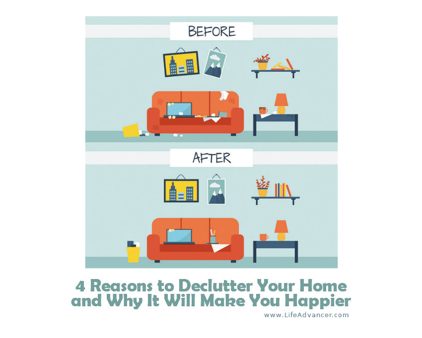 Reasons Declutter Your Home