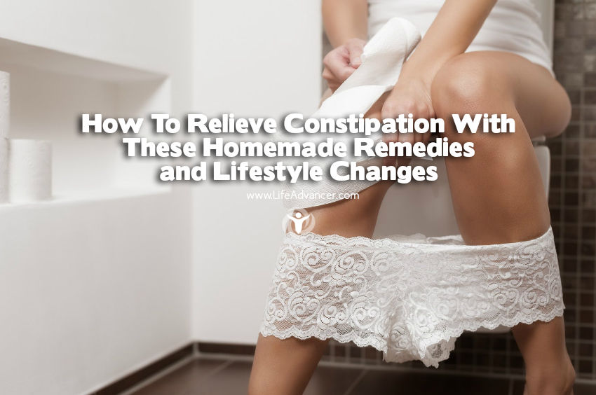 how to relieve constipation