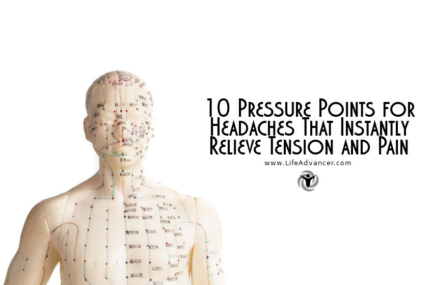view larger image pressure points for headaches