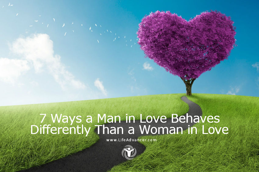 Ways a Man in Love Behaves Differently