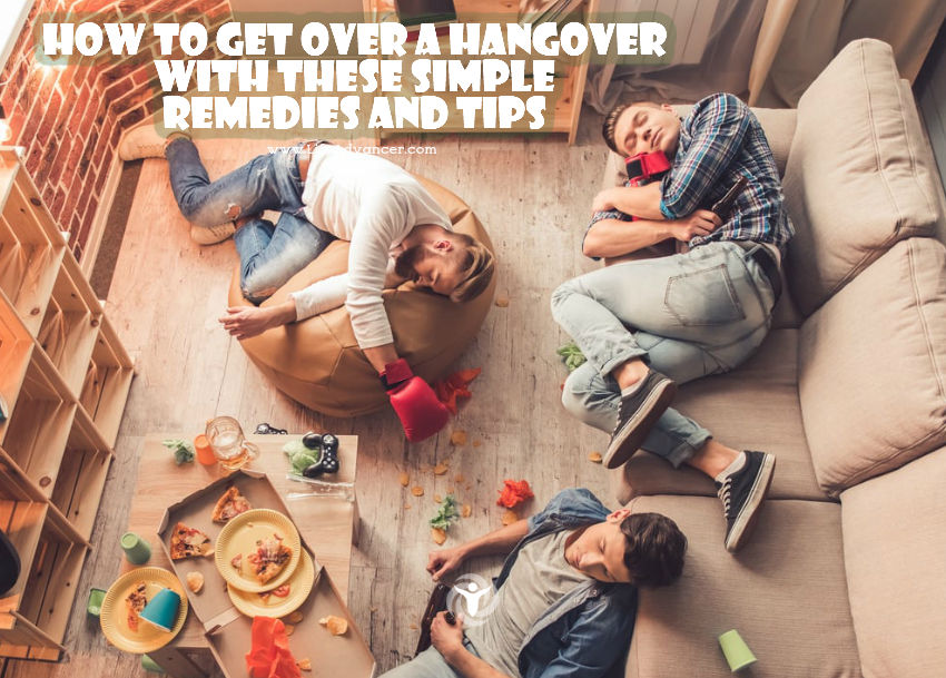 How to Get over a Hangover