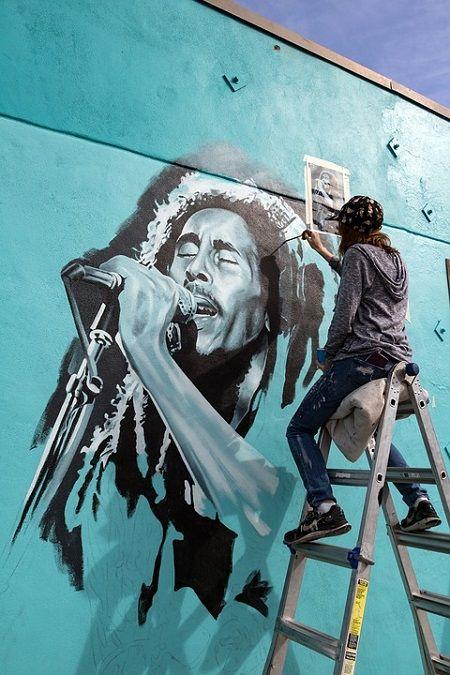 Bob Marley singer