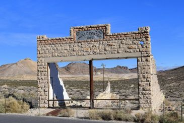 07-Rhyolite Nevada Ghost Town