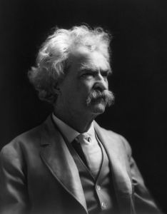 Mark Twain portrait 1909