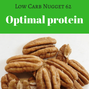 Optimal protein on an LCHF diet
