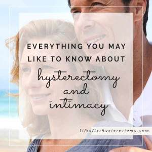 hysterectomy and intimacy