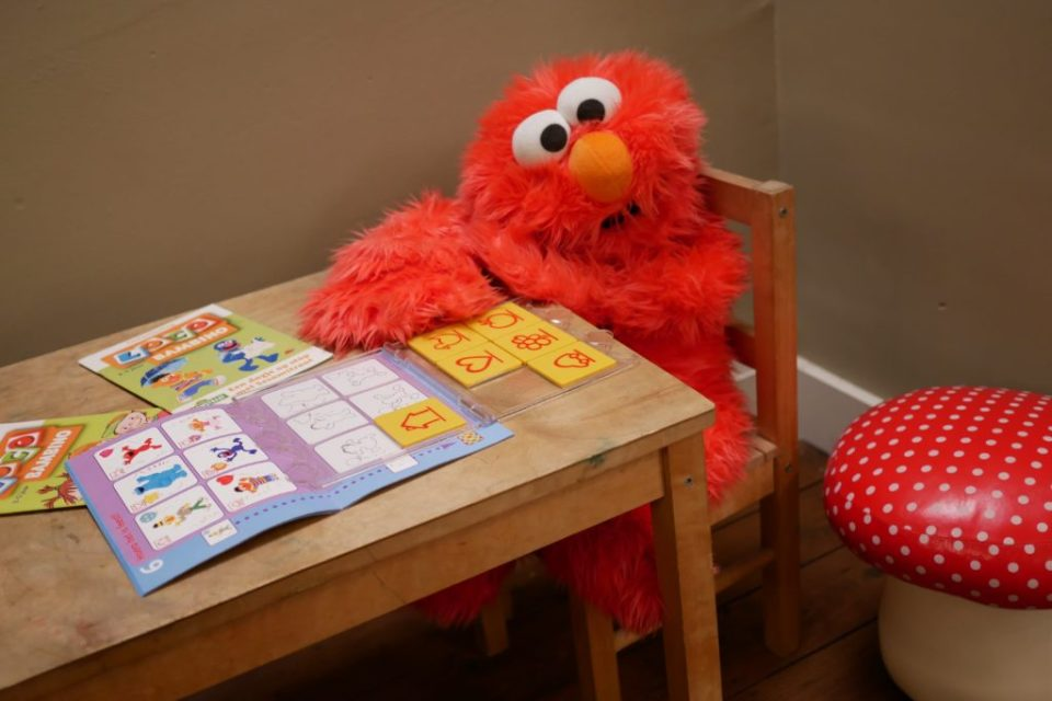 Elmo Sesamstraat Loco Bambino