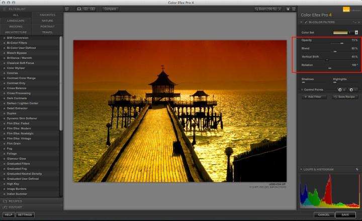 Color Efex Pro Bi-Color filter