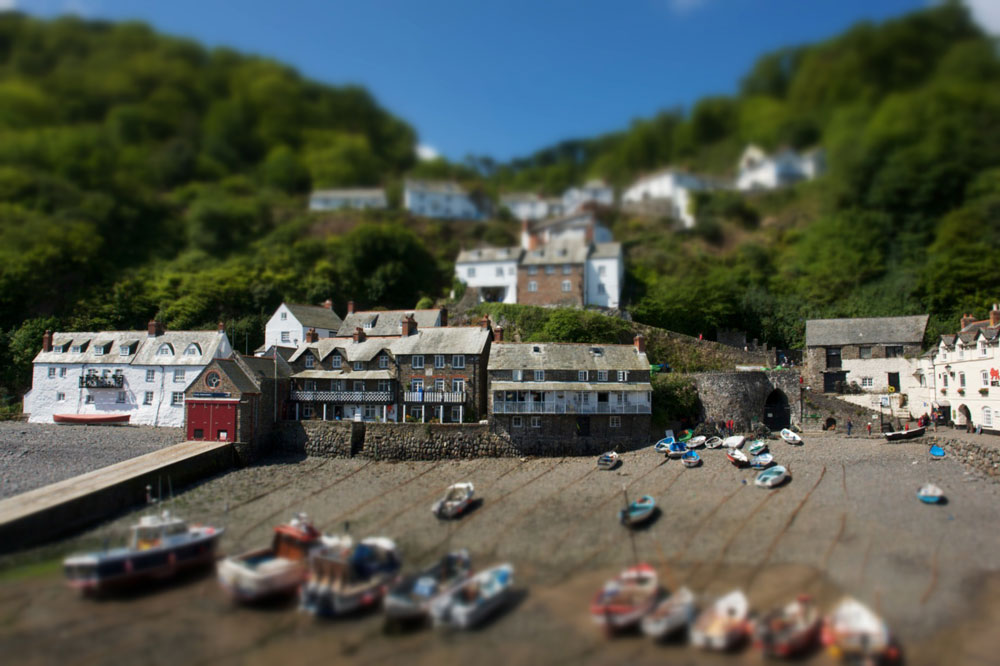 Snapseed Tilt Shift effect