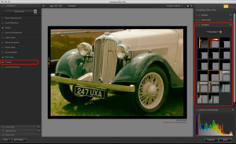 Analog Efex Pro Camera Kit