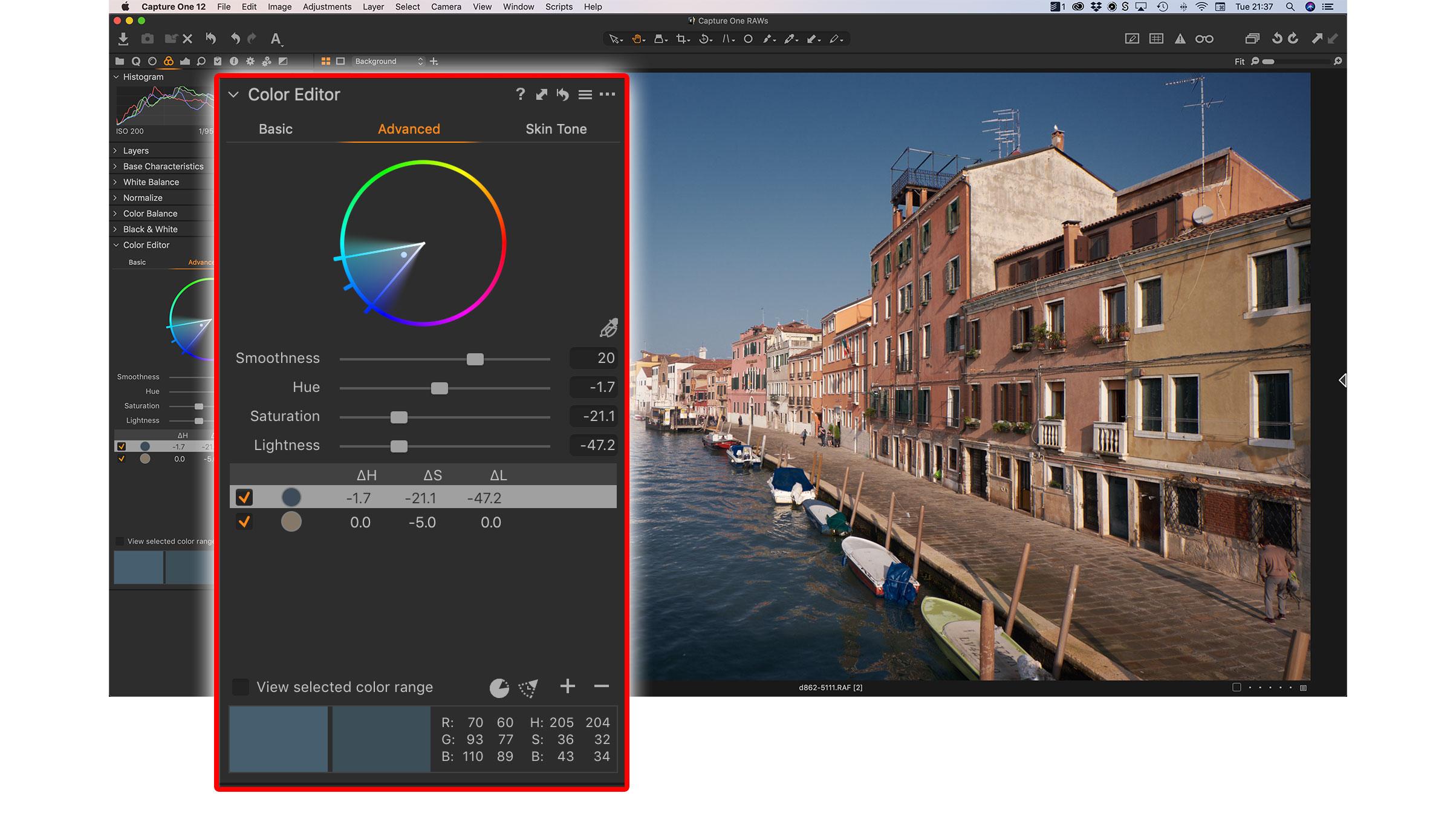 Capture One preset: SN-04 Seasonal Style