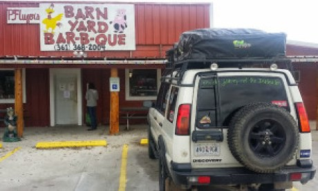 Best little BBQ place in Who-Knows-Where, Texas!