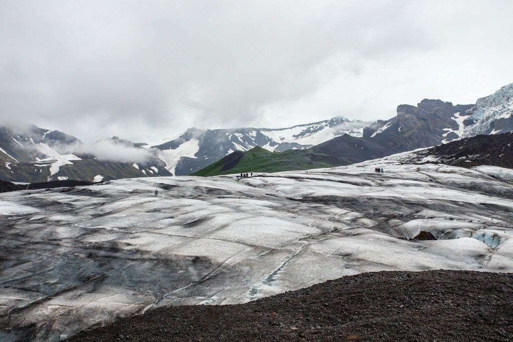 Vatnajökull glacier -- Falljökull tongue