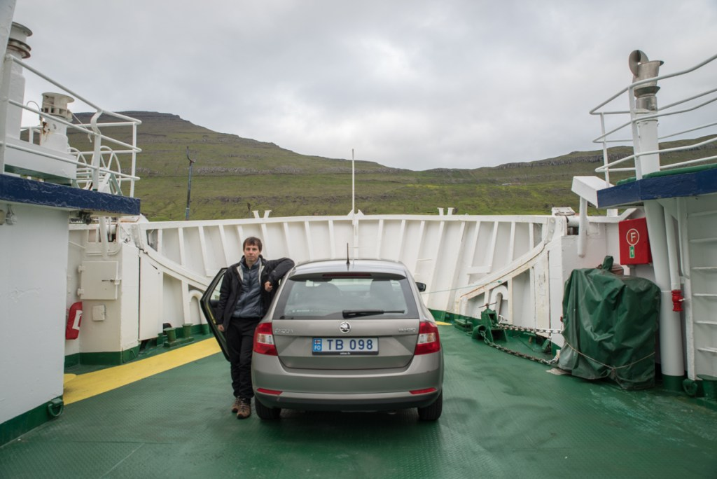 Ferry to Syðradalur (Kalsoy)