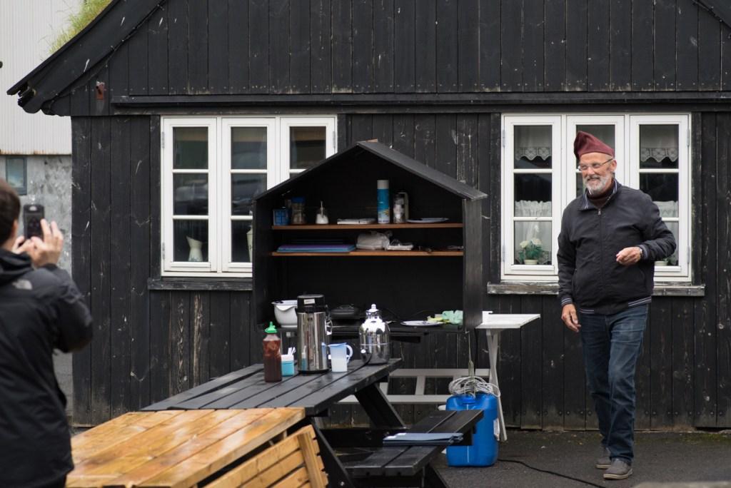 Tjørnuvík cafe