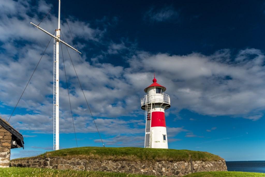 Skansin - a small fort in Tórshavn