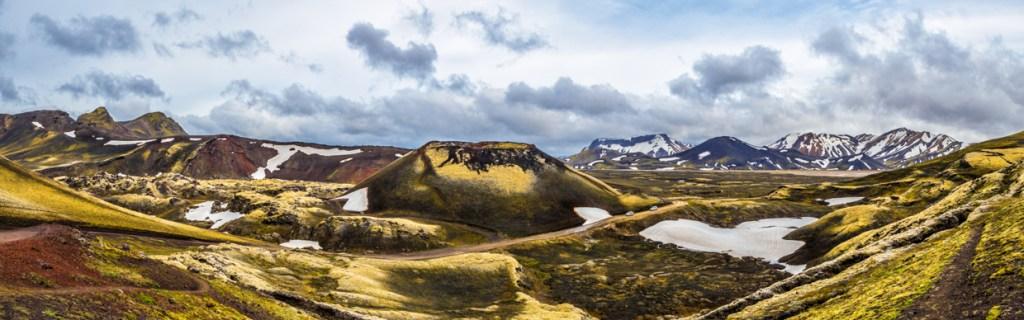 View from Frostastaðavatn parking lot