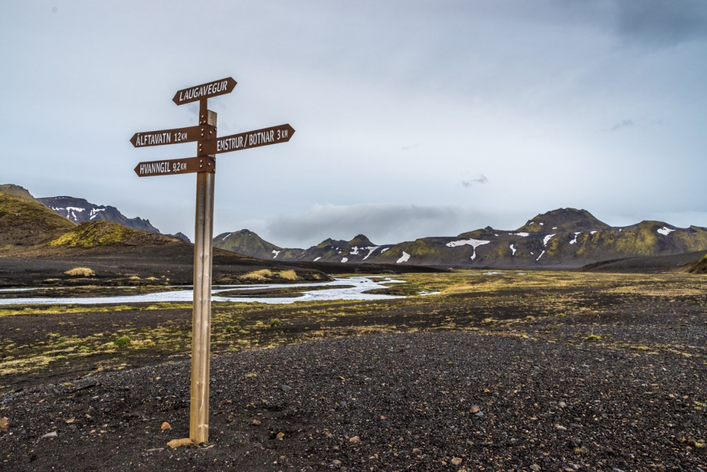 Crossroads From Álftavatn to Emstrur