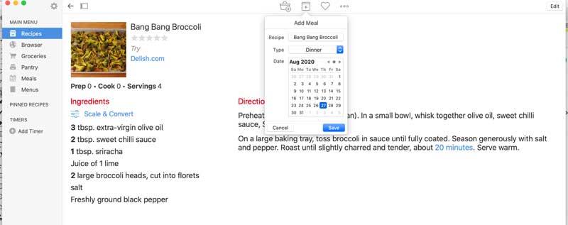 paprika app recipe