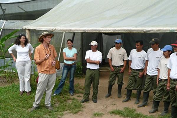 Ecuador butterfly breeders