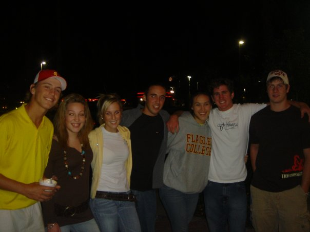 Friends at Coldstone in 2005