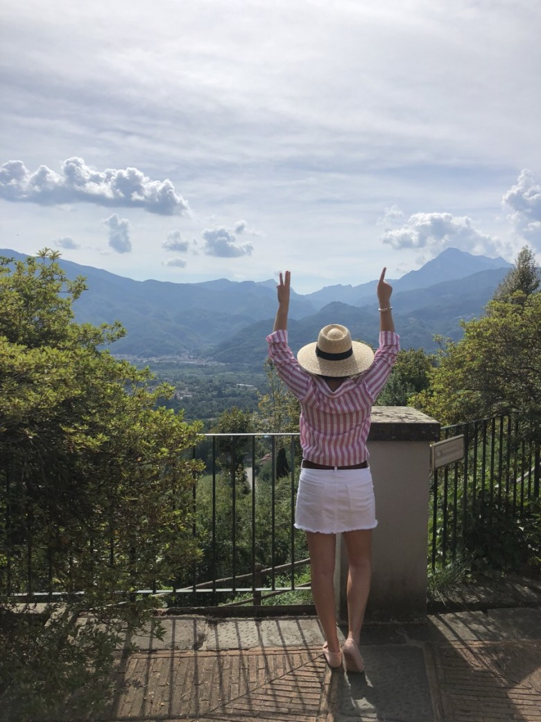 What I Wore While Vacationing in Tuscany Italy