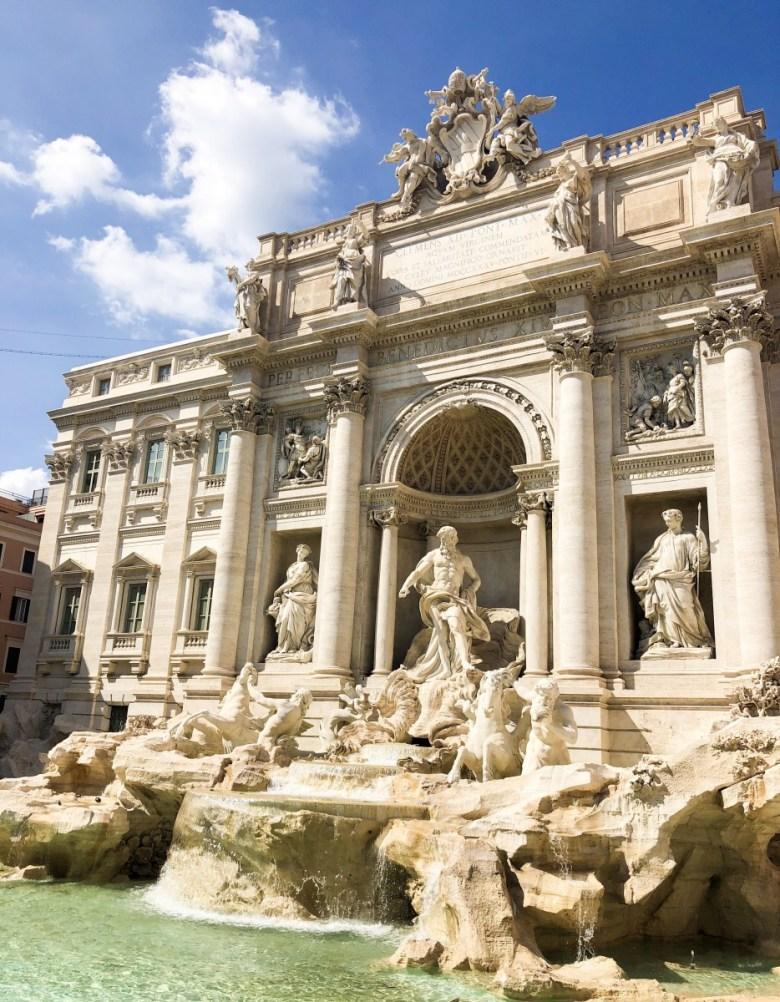 Travel Diary | Trevi Fountain in Rome, Italy