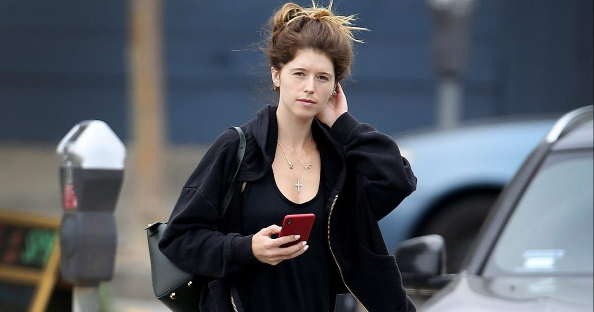 Katherine Schwarzenegger Goes MakeupFree to the Gym  Photos