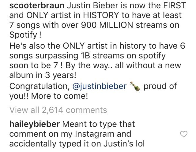 Hailey Baldwin Admits She Has Justin's Instagram Password