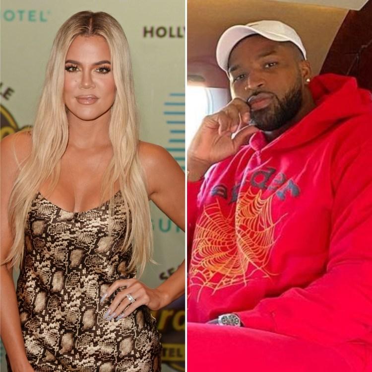 Khloe Kardashian Dines With Boyfriend Tristan Thompson in ...