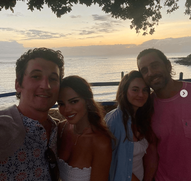 Shailene Woodley Takes Aaron Rodgers on Hawaiian Getaway with Miles Teller and wife Keleigh Sperry