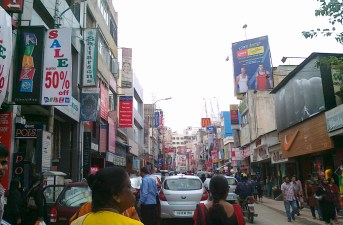 Commercial Street- Bangalore