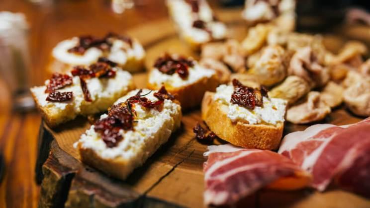 local-food-in-dalmatian-winery