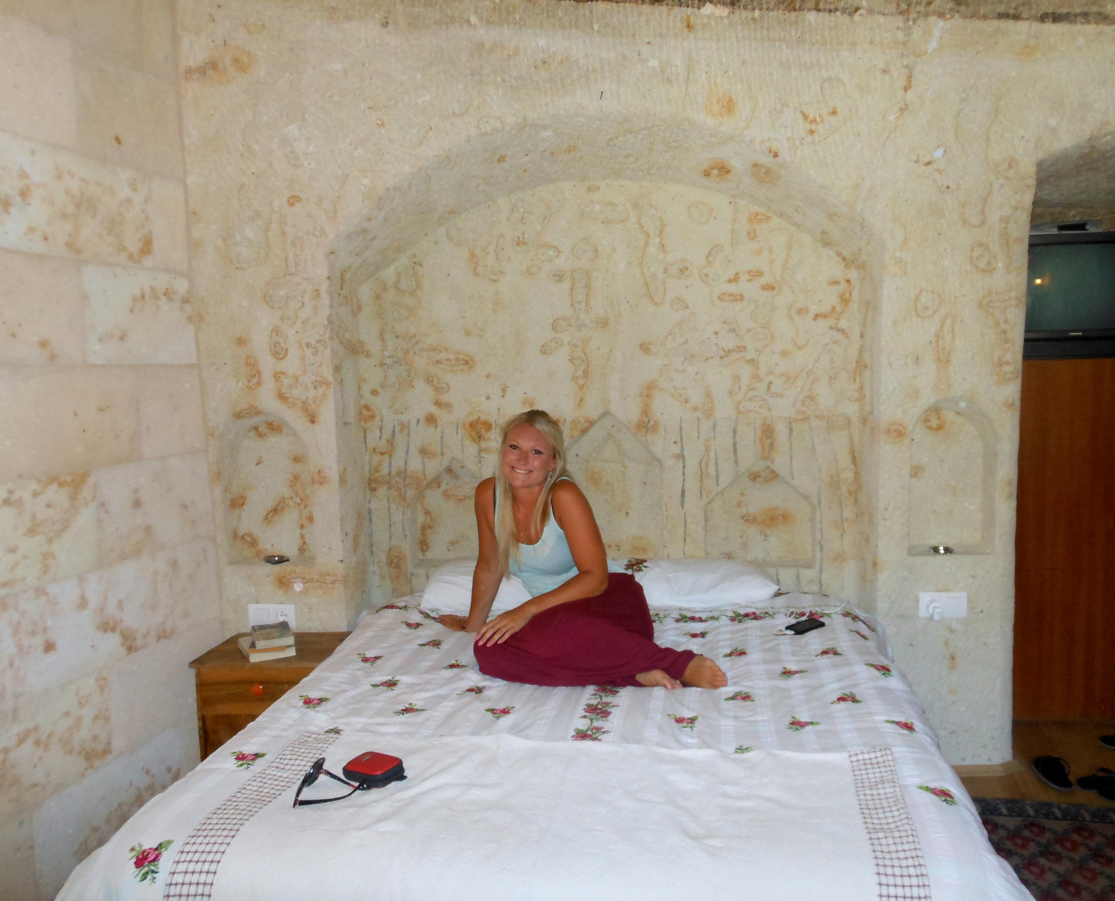 Mustafapasa monastery cave hotel