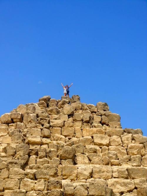 Climbing a Pyramid