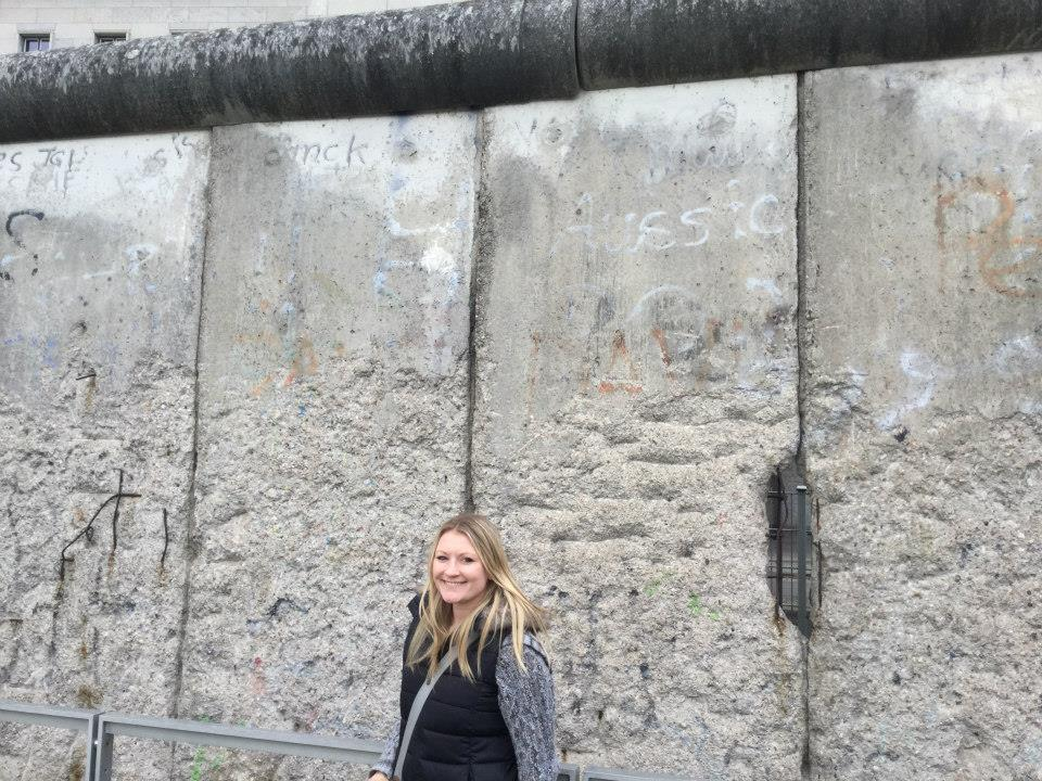Berlin Wall Hayley Stainton