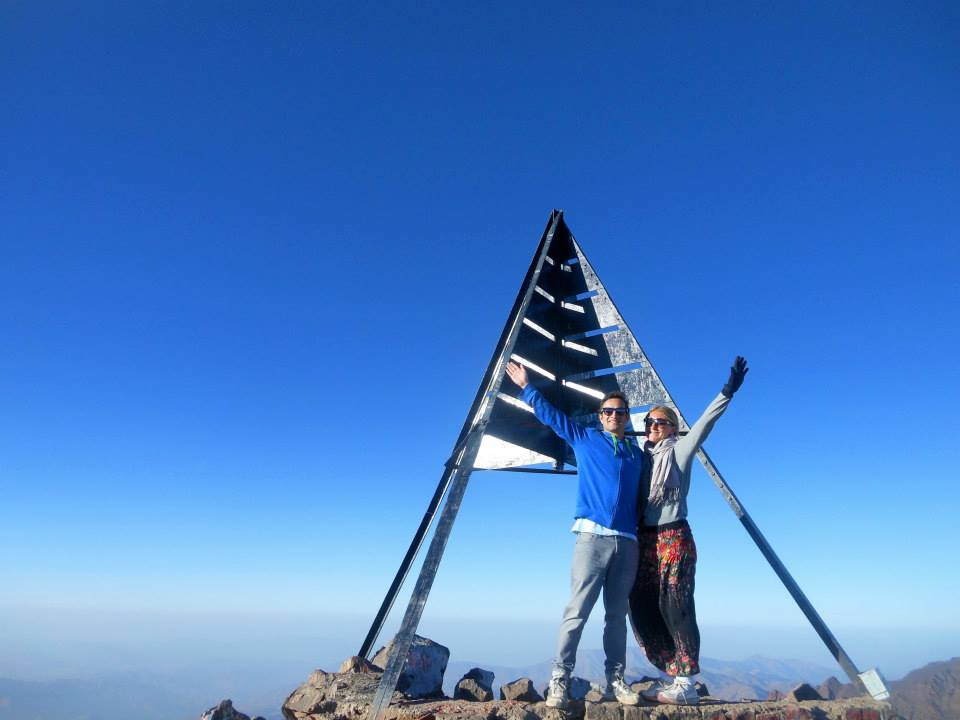 Mount Toubkal summit