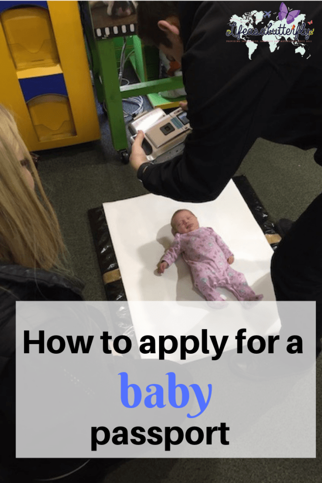 how to apply for a baby passport