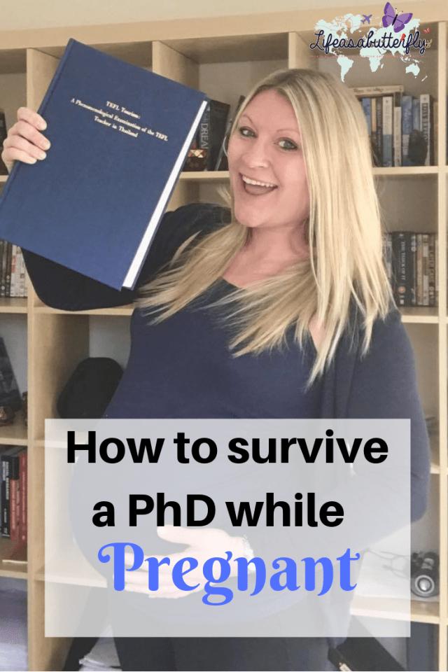 PhD while pregnant