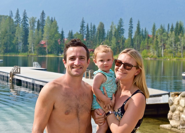 Canada with a baby