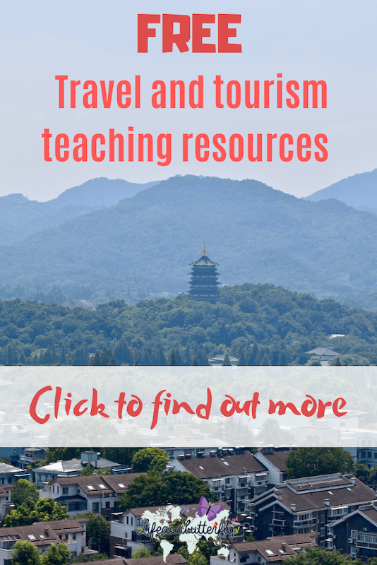 Travel and Tourism teaching resource platform