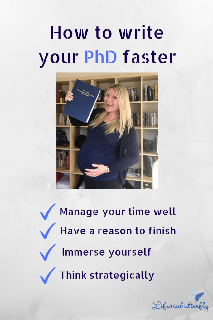 write your PhD faster