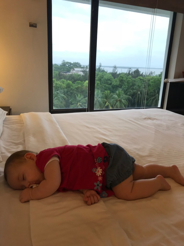baby sleep travelling