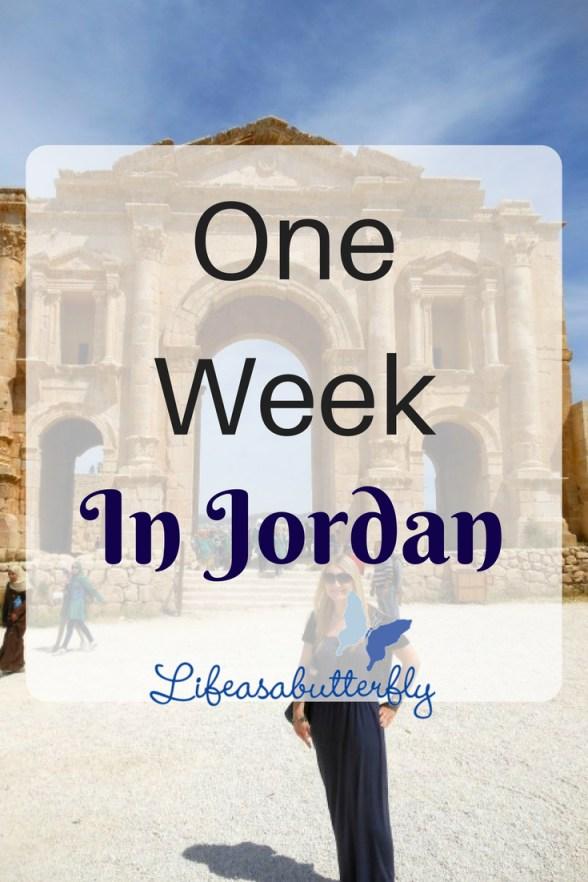 One Week In Jordan